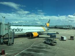 Seit vielen Jahren mal wieder mit Condor aufLangstrecke