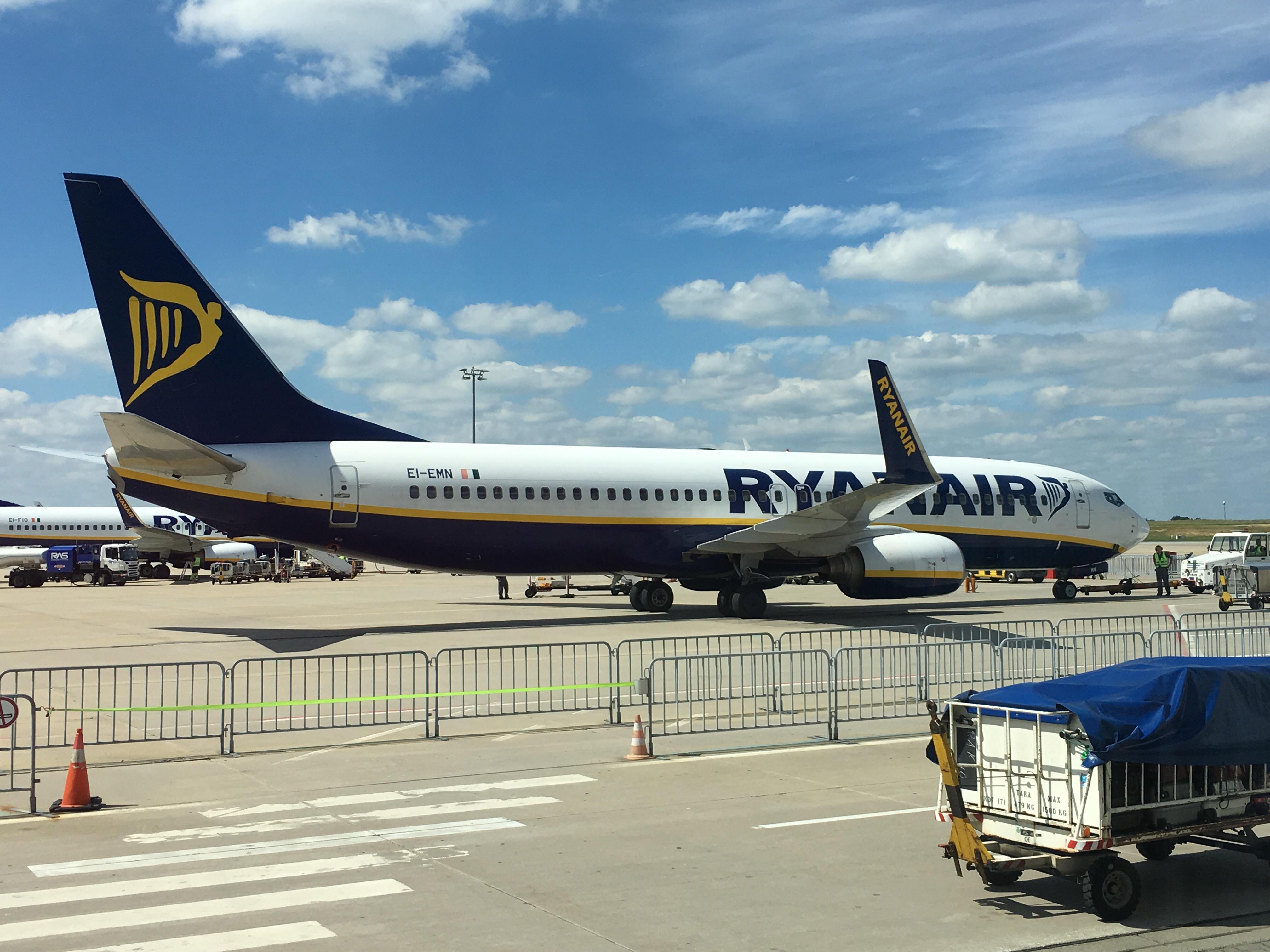 Seit langem mal wieder mit Ryanair | Markus Strebel