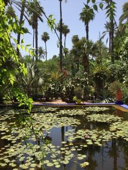 Le Jardin Majorelle ist ein Besuchwert