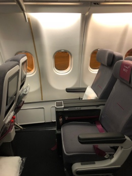 Mit Eurowings in BEST Class nach Salalah