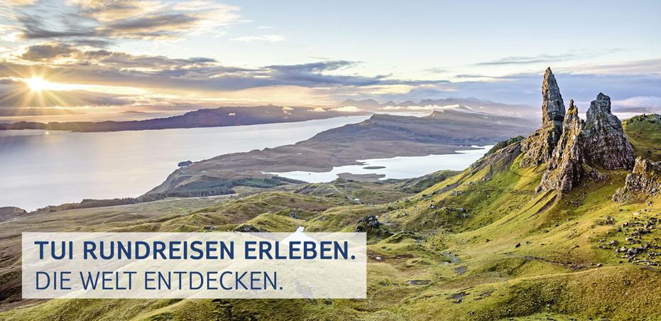 TUI Rundreisen-Banner
